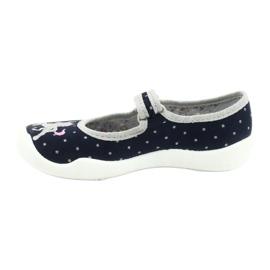 Befado children's shoes 114X414 navy grey 2