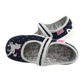 Befado children's shoes 114X414 navy grey 5