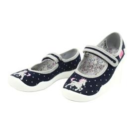 Befado children's shoes 114X414 navy grey 3