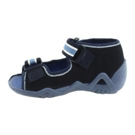Befado slippers sandals children's shoes 250P065 navy blue blue 1