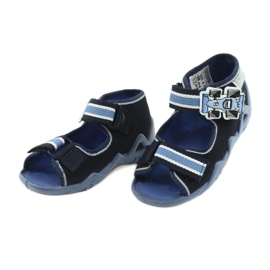 Befado slippers sandals children's shoes 250P065 navy blue blue 2