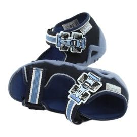 Befado slippers sandals children's shoes 250P065 navy blue blue 4