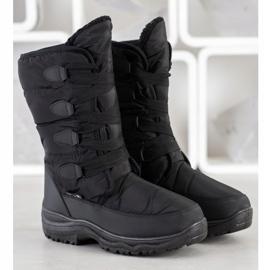 SHELOVET High Snowboots black 2