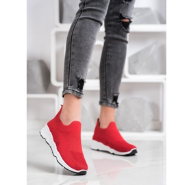 Goodin Sliding Sneakers red 1