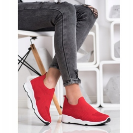 Goodin Sliding Sneakers red 2