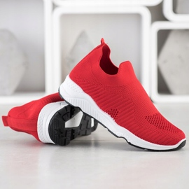Goodin Sliding Sneakers red 3