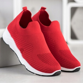 Goodin Sliding Sneakers red 4