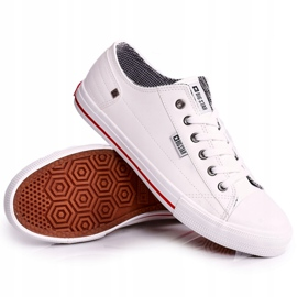 Men's Leather Sneakers Big Star DD174260 White 5