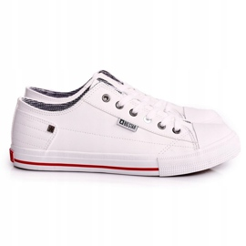 Men's Leather Sneakers Big Star DD174260 White 1