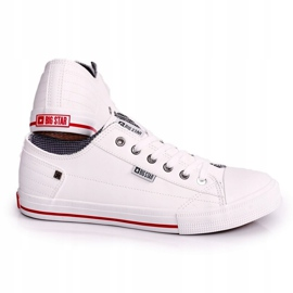 Men's Leather Sneakers Big Star DD174260 White 2