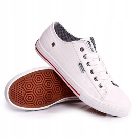 Men's Leather Sneakers Big Star DD174260 White 3