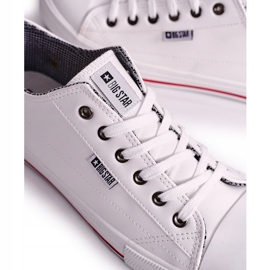 Men's Leather Sneakers Big Star DD174260 White 4