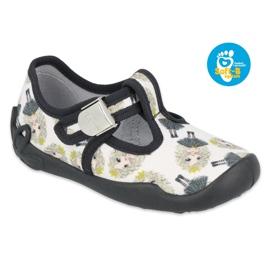 Befado children's shoes blanka princess 115X007 black ecru 1