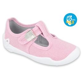 Befado children's shoes blanka pink 115X002 silver 1