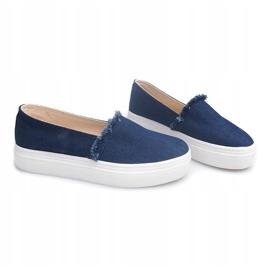 Slip On Jeans 80138 Navy Blue 2