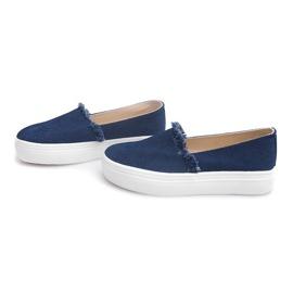 Slip On Jeans 80138 Navy Blue 3