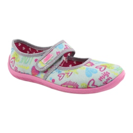 Befado children's shoes 945X430 pink grey multicolored 1