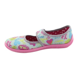 Befado children's shoes 945X430 pink grey multicolored 2