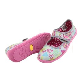 Befado children's shoes 945X430 pink grey multicolored 4
