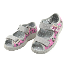 Befado children's shoes 969X162 pink silver 3