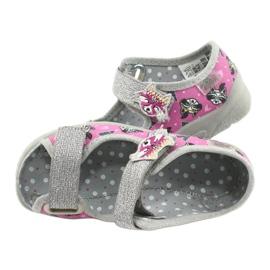 Befado children's shoes 969X162 pink silver 5