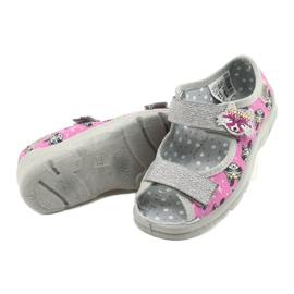 Befado children's shoes 969X162 pink silver 4