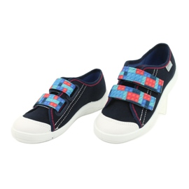 Befado children's shoes 672X071 red navy blue 3