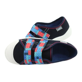 Befado children's shoes 672X071 red navy blue 5