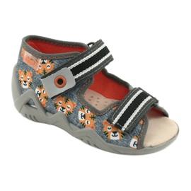 Befado yellow children's shoes 350P016 grey multicolored 1
