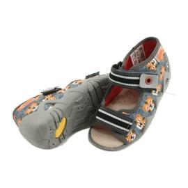 Befado yellow children's shoes 350P016 grey multicolored 4