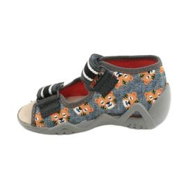 Befado yellow children's shoes 350P016 grey multicolored 2