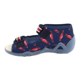 Befado yellow children's shoes 350P018 red navy 2