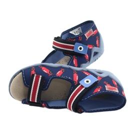 Befado yellow children's shoes 350P018 red navy 5