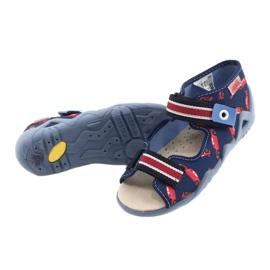 Befado yellow children's shoes 350P018 red navy 4
