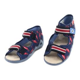 Befado yellow children's shoes 350P018 red navy 3