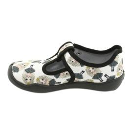Befado children's shoes blanka princess 115X007 black ecru 3