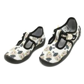 Befado children's shoes blanka princess 115X007 black ecru 4