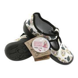 Befado children's shoes blanka princess 115X007 black ecru 6