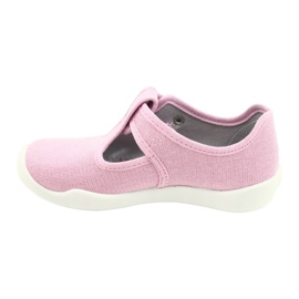 Befado children's shoes blanka pink 115X002 silver 3