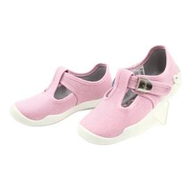 Befado children's shoes blanka pink 115X002 silver 4