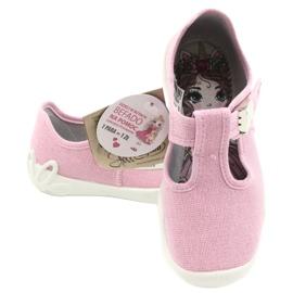 Befado children's shoes blanka pink 115X002 silver 6