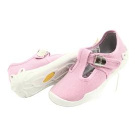 Befado children's shoes blanka pink 115X002 silver 5