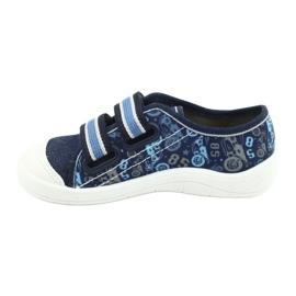 Befado children's shoes 672X073 navy blue blue multicolored 2