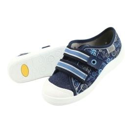 Befado children's shoes 672X073 navy blue blue multicolored 4