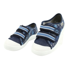 Befado children's shoes 672X073 navy blue blue multicolored 3