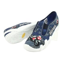 Befado children's shoes 290Y203 navy grey multicolored 4