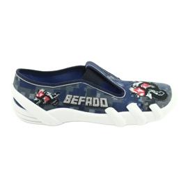 Befado children's shoes 290Y203 navy grey multicolored 1