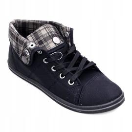 High Sneakers Konwers DD52 Black 1