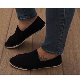 Lycra D16M Black Slip-On Sneakers 2
