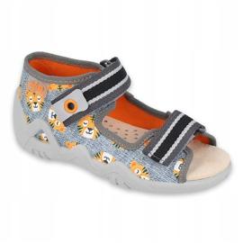 Befado yellow children's shoes 350P016 orange grey 1